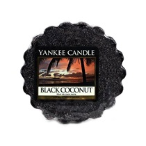 Paraffin mini viasz Black Coconut 2x6cm